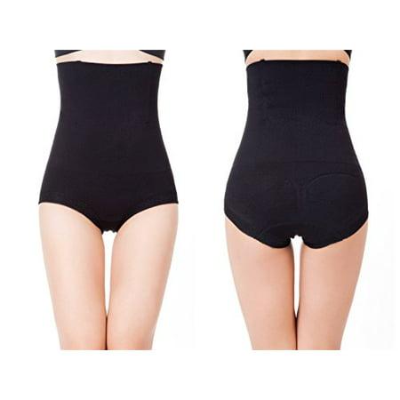 Femmes amincissants Salut-taille ferme Brief Butt Tummy contrôle Lifter Panty Shaper (3XL Noir)