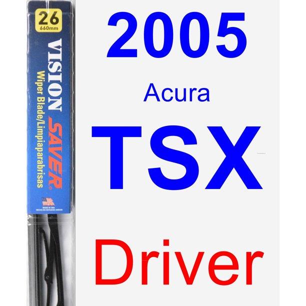 2005 Acura TSX Driver Wiper Blade
