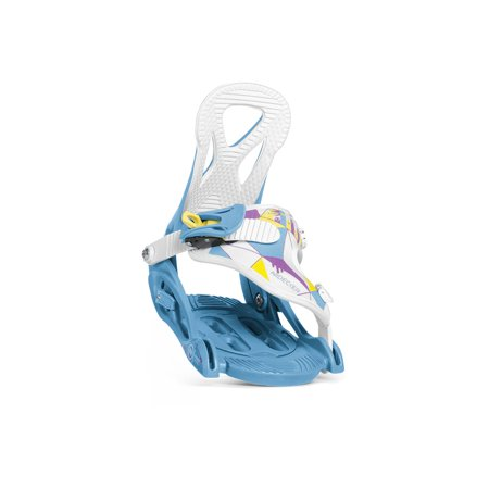 Nidecker Kids' Magic Series Snowboard Bindings 2019 Blue (Best Alpine Ski Bindings 2019)