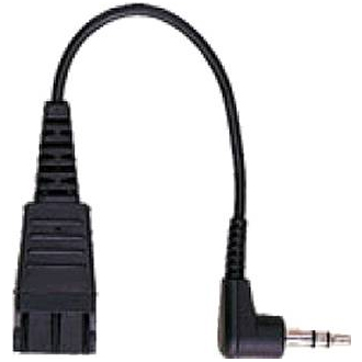 Jabra 8734-749 QD to 3.5 mm Stereo Plug connection Cord for Biz & GN Headset Models
