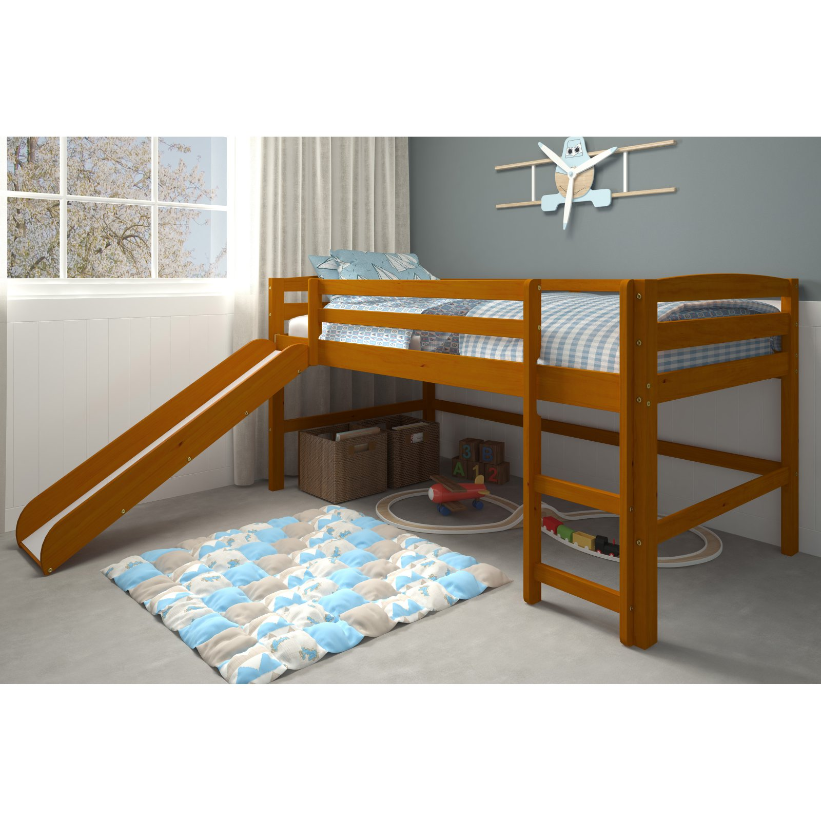 Woodcrest Pine Ridge Mini Loft with Ladder