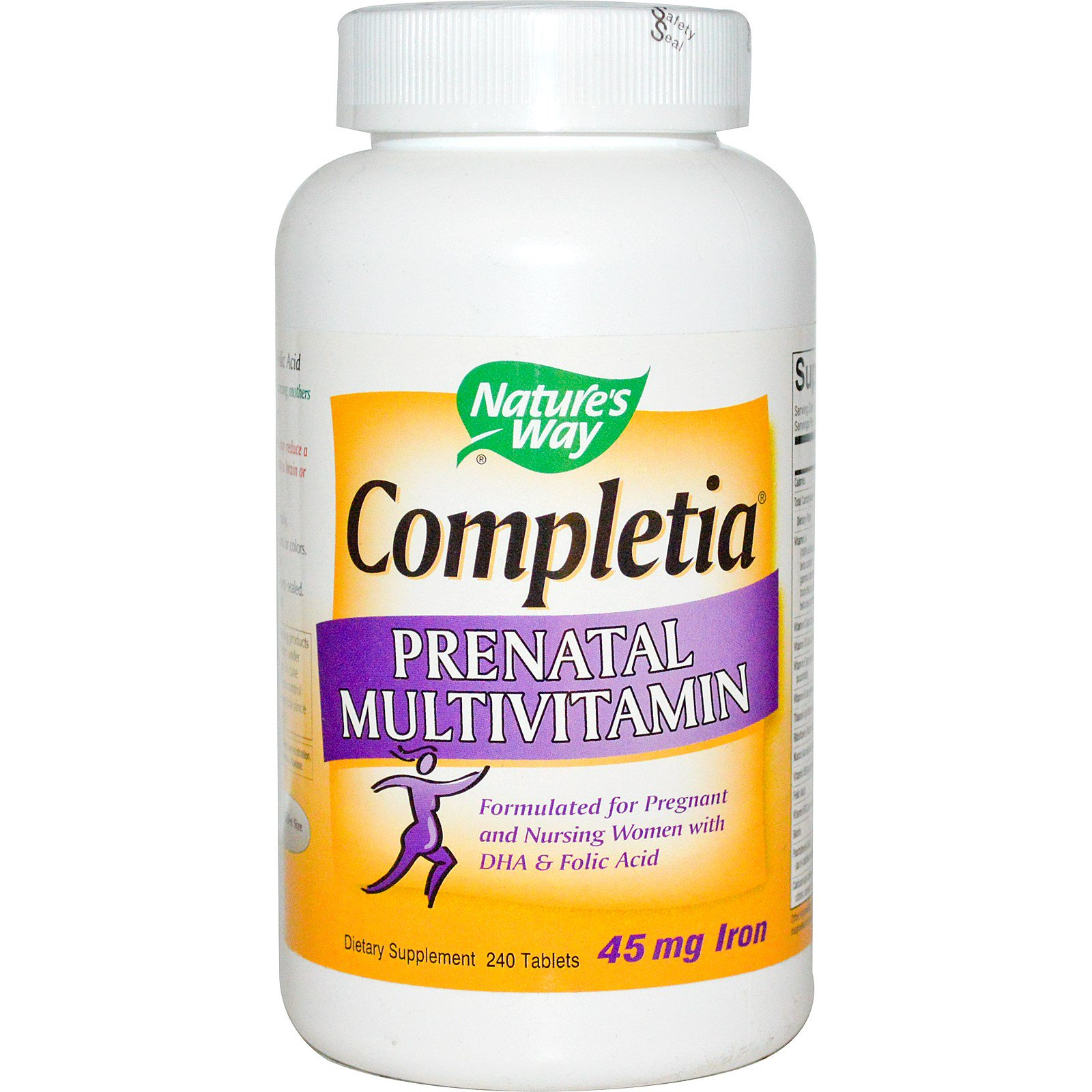 Nature's Way, Completia Prenatal Multivitamin, 240 Tablets(pack of 1)