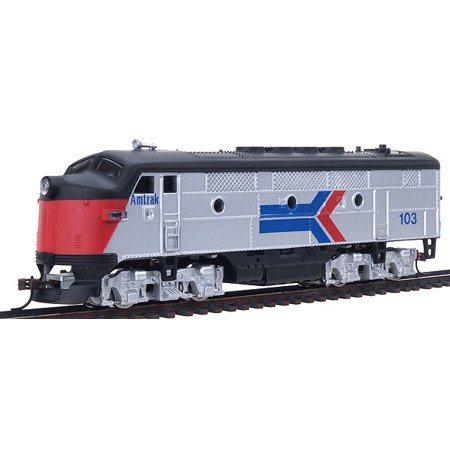 Model Power 96806 HO Scale Amtrak F2a Diesel Locomotive #103 (American Model Builders Ho Scale)