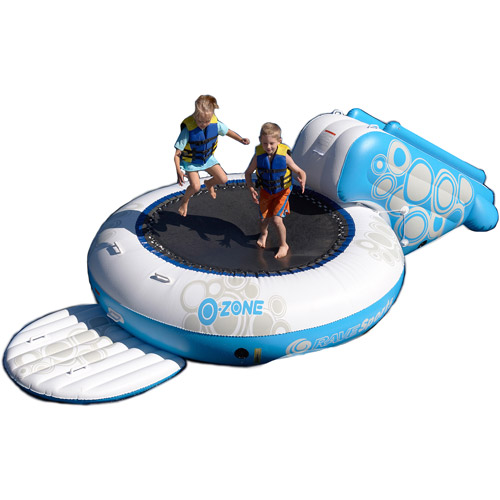 Rave Sport O-Zone Plus Water Bouncer, Blue