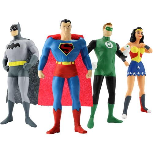 Justice League 4-Piece Action Figure Boxed Set