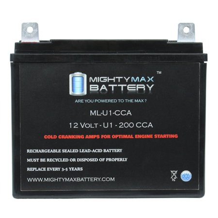 Ml U1 200cca Battery For Swisher Z Max Zt18542a Zero Turn Lawn Mower