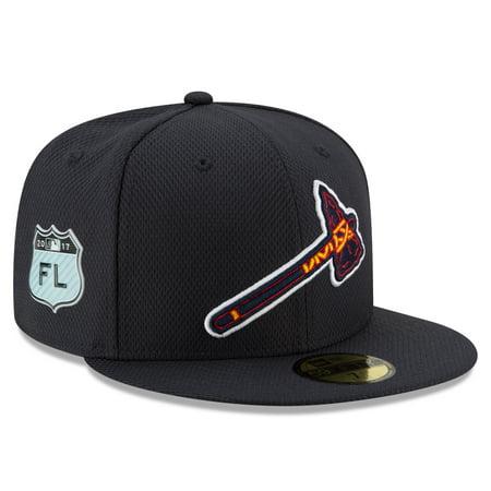 Atlanta Braves New Era 2017 Spring Training Diamond Era 59FIFTY Fitted Hat -