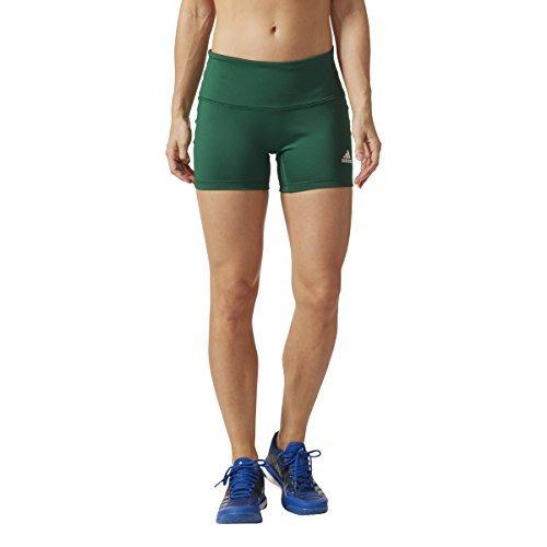 Adidas Women's Volleyball Four-Inch Short Tights, Dark Gr...