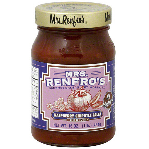 Mrs. Renfro's Raspberry Chipotle Salsa, 16 oz (Pack of 6)