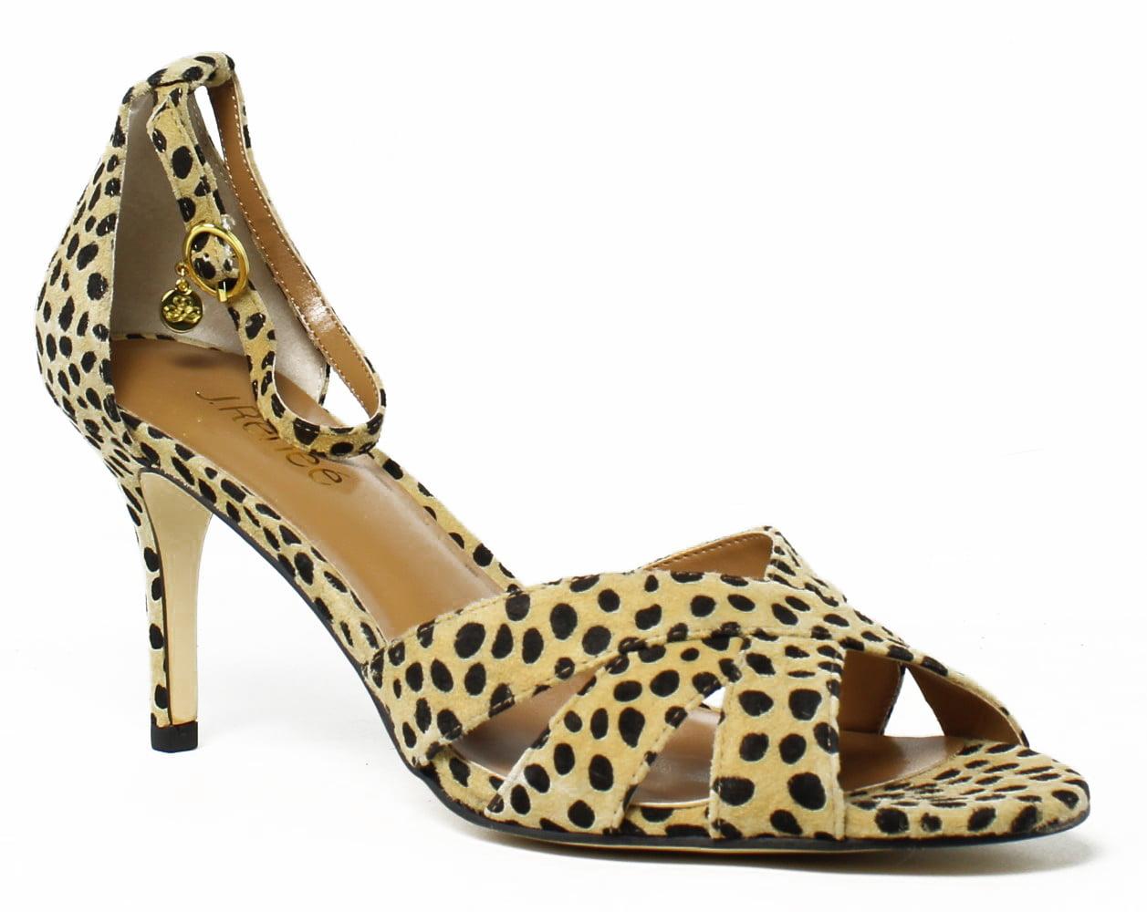 J. Renee Womens Brown Ankle Strap Heels Size 9 New by J. Renee
