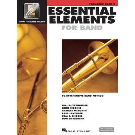 Essential Elements for Band - Book 2 with Eei : Trombone (Trombone Pistons)
