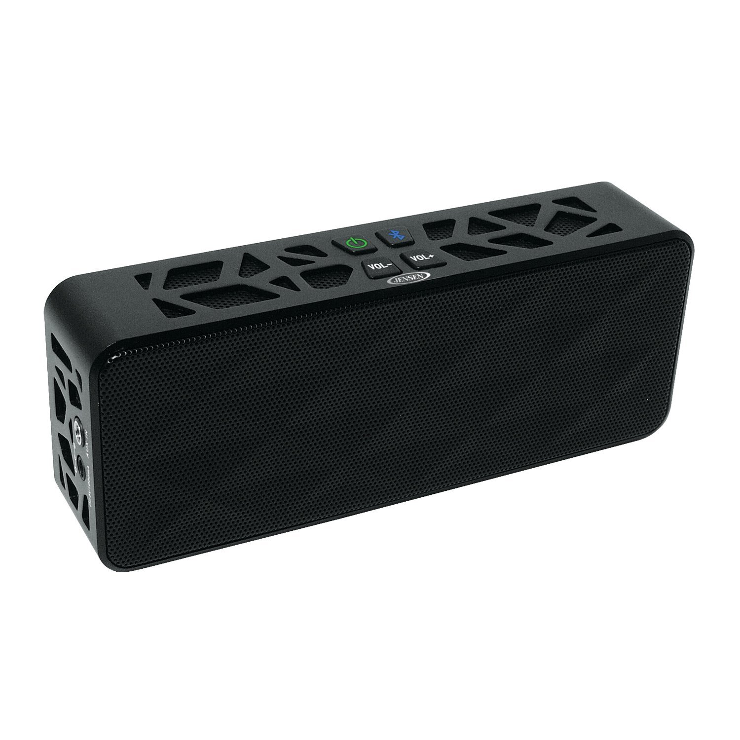 Jensen Portable Bluetooth Wireless Rechargeable Speaker for iPod,iPad,iPhone and Smartphones, Ship from America
