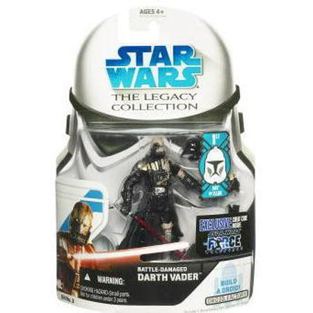 Battle Damaged Darth Vader Action Figure Star Wars Force