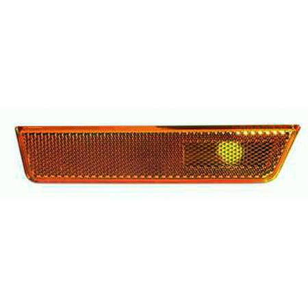 - 2008-2014 Dodge Challenger  Aftermarket Passenger Side Front Side Marker Lamp Lens 68043394AA CAPA