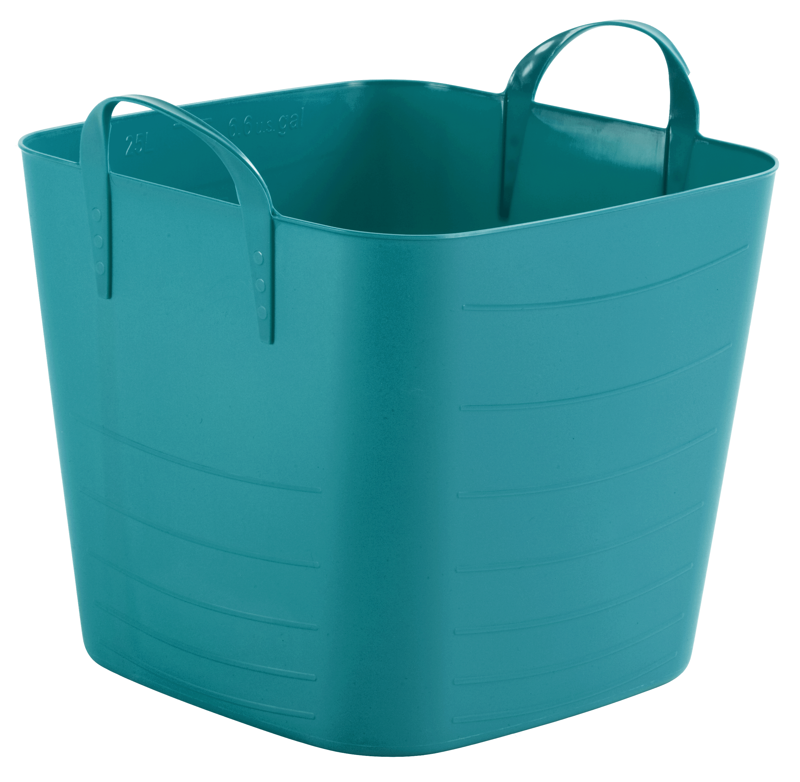 Mainstays 25-Liter Turquoise Flexible Tub