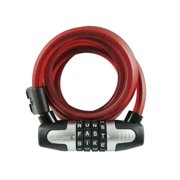 Wlx Bike Lock, 12Mm/6', Assorted Colors Wordlock Bicycle Accessories CL607A1