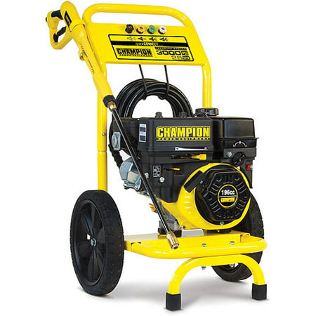 Champion 3000 PSI Gas-Powered Pressure Washer