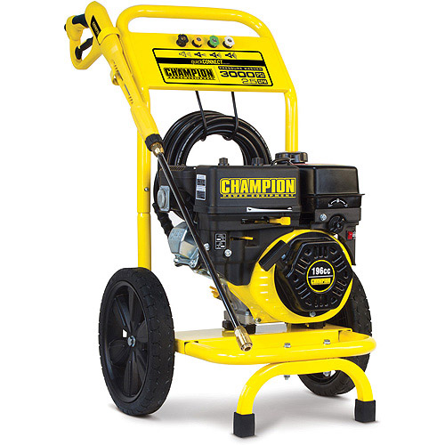 Champion 3000 PSI Gas-Powered Pressure Washer