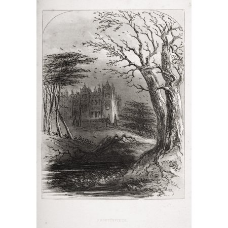 - Frontispiece From The Book Bleak House By Charles Dickens Illustration By Phiz (Hablot Knight Browne) 1815-1882 Published London 1853 Canvas Art - Ken Welsh  Design Pics (12 x 17)