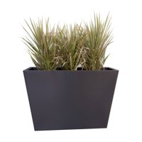 Veradek Pro Series Partition 40 in. Grooved Outdoor Rectangle Planter
