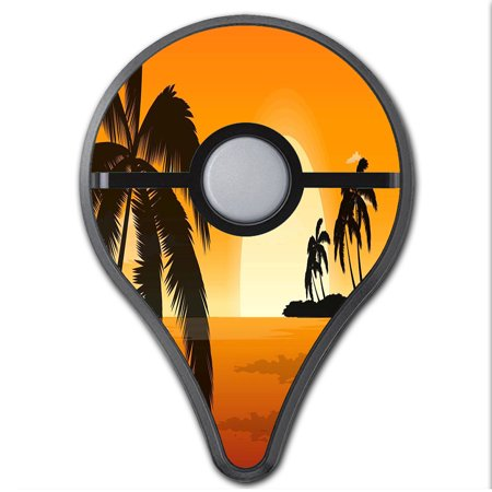 Skins Decals For Pokemon Go Plus (2-Pack) Cover / Palm Trees At (Pokemon That Looks Like A Palm Tree)