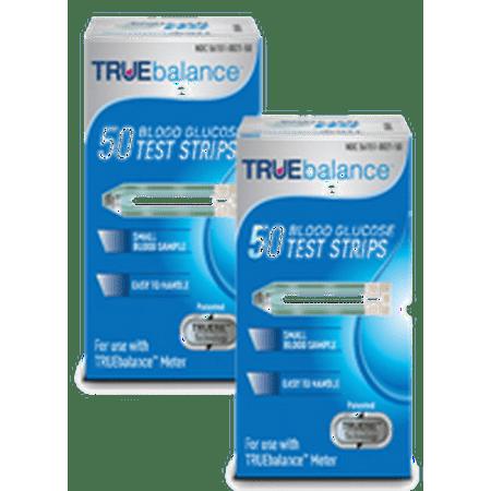 Truebalance Diabeties Test Strips 100 Strips