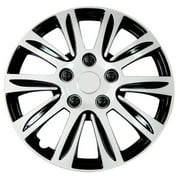 Pilot Automotive WH547-16S-B 16 in. Premier Wheel Cover, Silver
