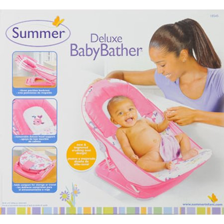 Summer Infant Mother\'s Touch Deluxe Baby Bather, Submarine Pink ...