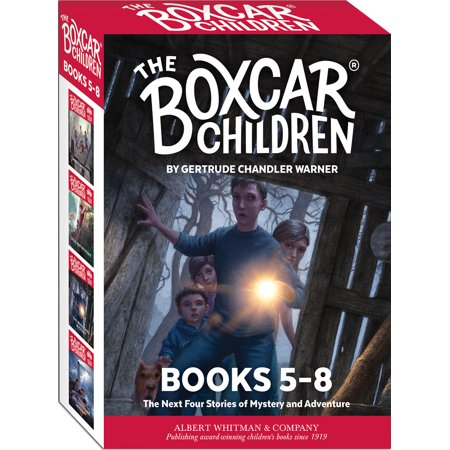 The Boxcar Children Mysteries Boxed Set #5-8 - Kid Mystery Books