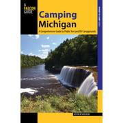 Camping Michigan - eBook
