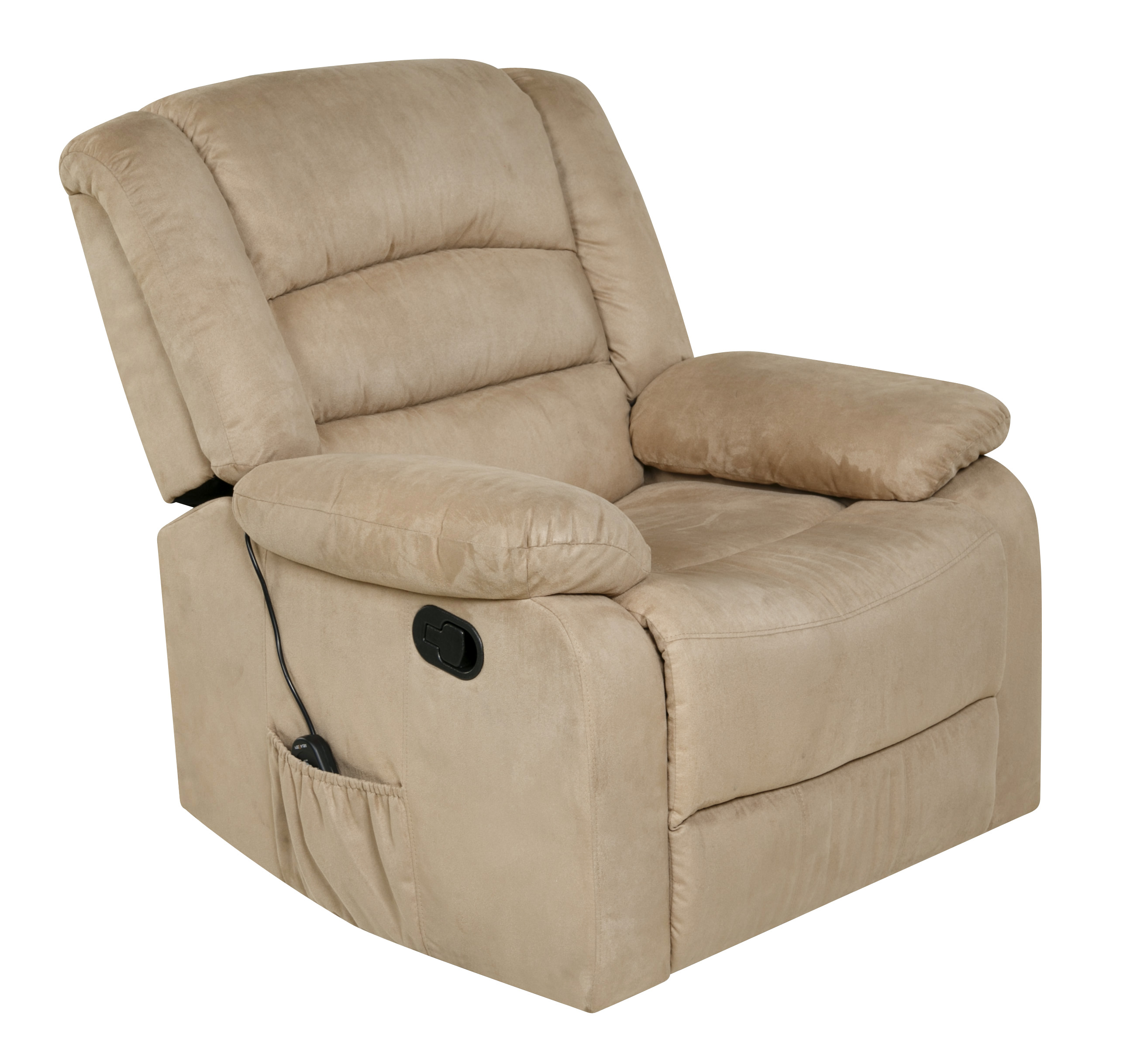 Relaxzen Rocker Recliner with Massage Heat