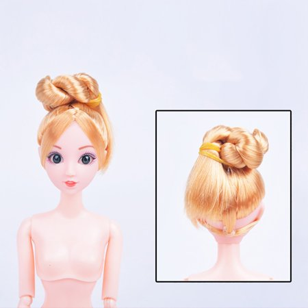 Nude Doll With Head 12 Joint Moving Naked Bodies DIY Toys Accessories Gift  Girl - Walmart.com b46b5355a8eb
