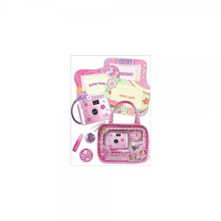 f48e9f20bb91 Pecoware Fancy Butterfly Camera and Picture Frame Set