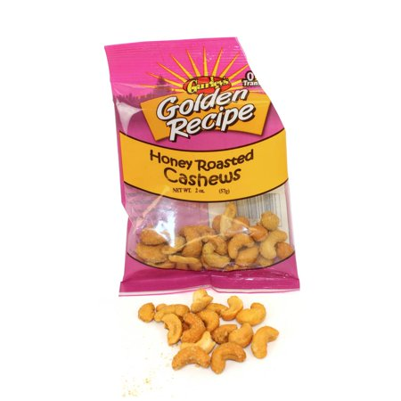 Golden Recipe Honey Roasted Cashews, 2 Ounce -- 8 per
