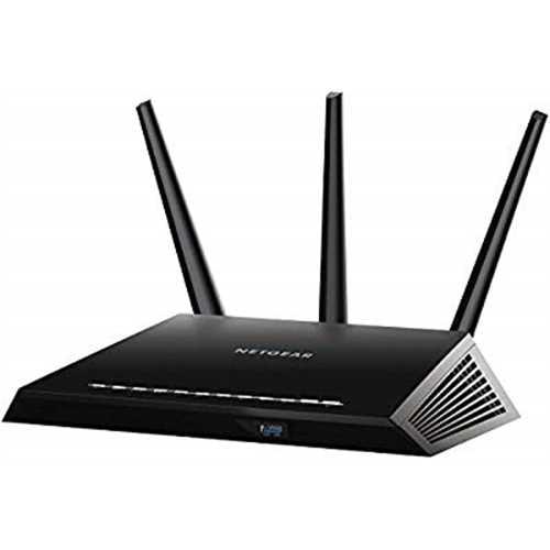 Refurbished NETGEAR Nighthawk AC1900 Smart WiFi Router Dual Band Gigabit (R6900-100NAS) by NETGEAR