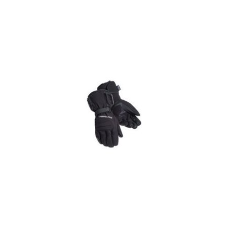 Tourmaster Synergy Electrically Heated Textile Gloves (Black, X-Small)