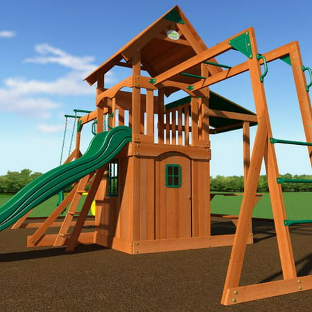 Backyard Discovery Saratoga Swing Set
