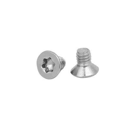 M2.5 x 4mm 304 Stainless Steel Torx Security Countersunk Head Screws 48PCS - image 1 of 2