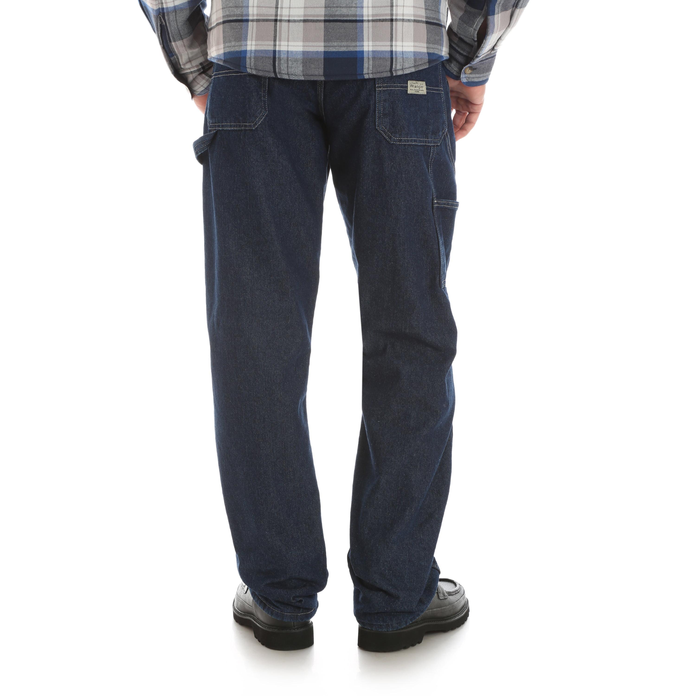 0f42ab30 Wrangler - Wrangler Men's Fleece Lined Carpenter Pant - Walmart.com