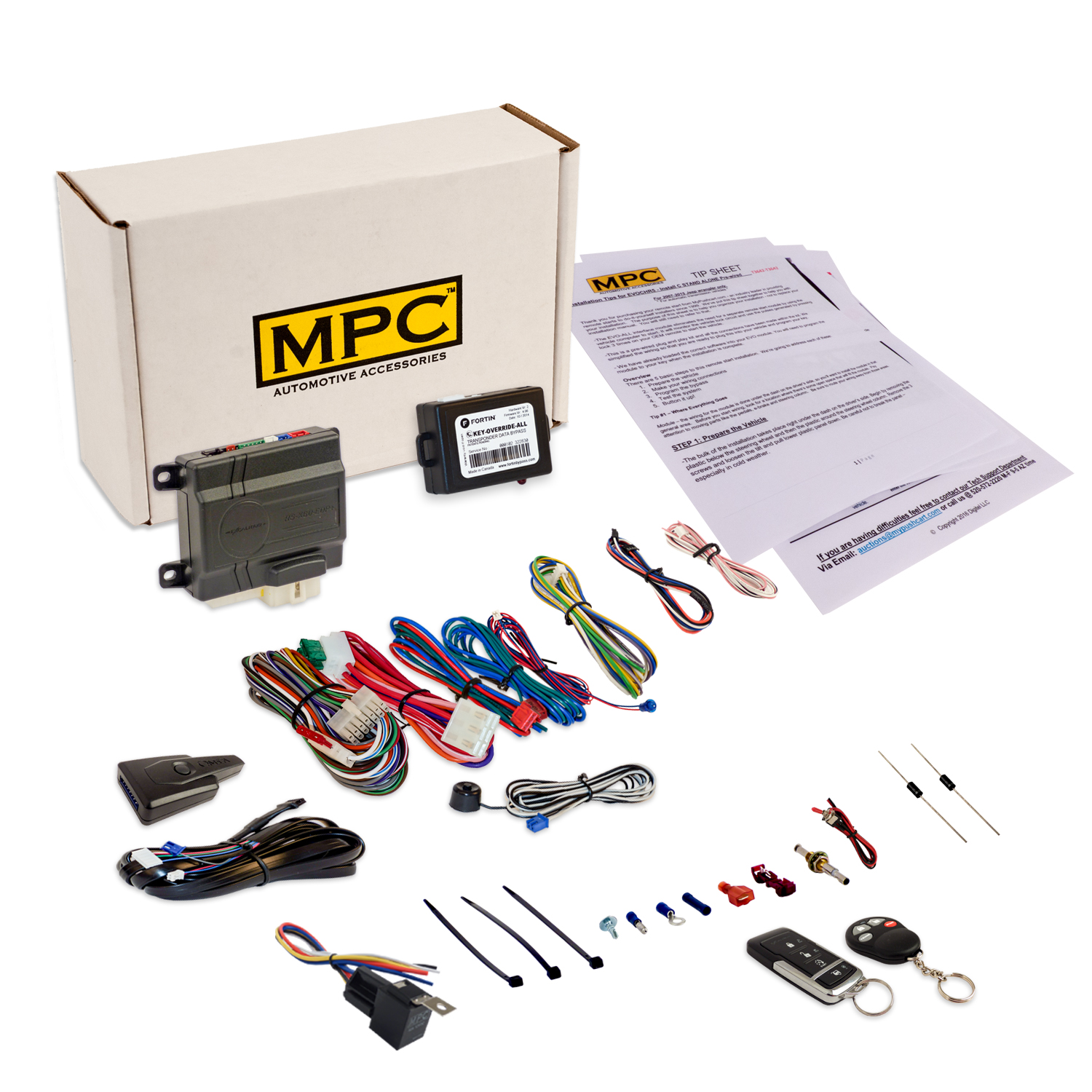 MPC Remote Start & Keyless Entry Fits Select Lincoln, Maz...