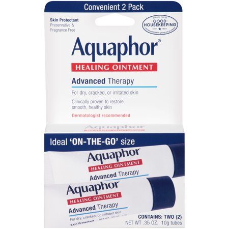 Aquaphor Advanced Therapy Healing Ointment Skin Protectant 2-.35 oz. (Healing Garden Jasmine Therapy)