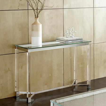 Acrylic Console Tables (Steve Silver Co. Talia Sofa Table)