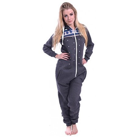 Womens One Pc Fashion Playsuit Ladies Bodysuit Overall Jumpsuit