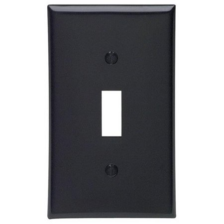 Toggle Device Switch Wallplate Device Mount Black