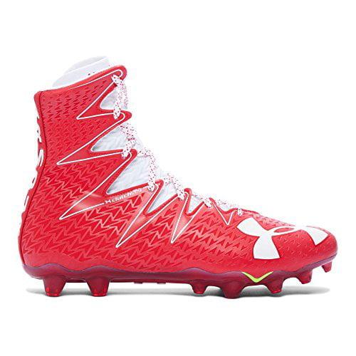 ua highlight mc football cleats red