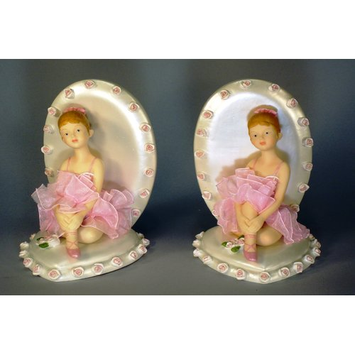 Judith Edwards Designs Ballerina Book Ends