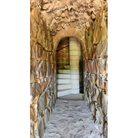 - Framed Art For Your Wall Corridor Tower Stairs Spiral Staircase 10x13 Frame