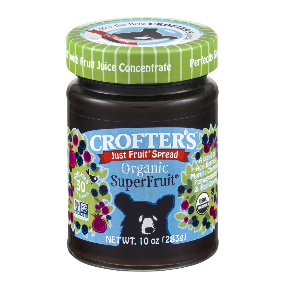 Crofter's Just Fruit Spread Organic Superfruit, 10.0 OZ