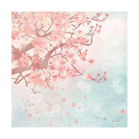 Sweet Cherry Blossoms III Print Wall Art By Evelia Designs