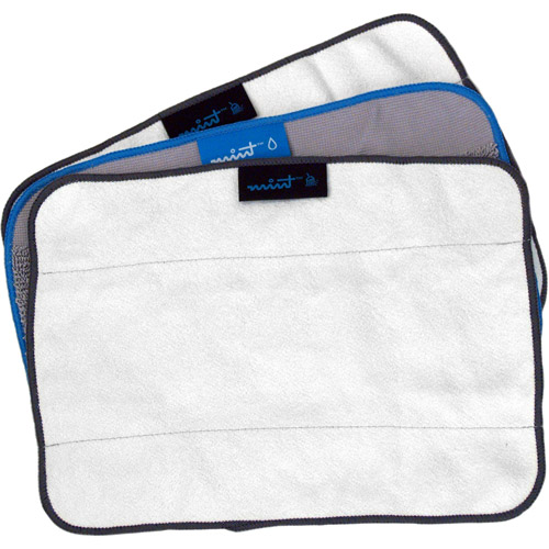 Mint Reusable Microfiber Cleaning Cloths, Pack of 3